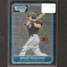BRAD McCANN - 2006 Bowman Chrome Rookie Card - Marlins& Indians