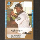 WLADIMIR BALENTIEN - 2005 Bowman Gold Rookie Card - Seattle Mariners