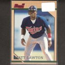 MATT LAWTON - 1996 Bowman RC - Twins & Indians