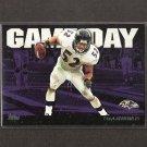 RAY LEWIS - 2011 Topps Gameday - Ravens & Miami Hurricanes