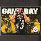 TROY POLAMALU - 2011 Topps Gameday - Steelers & USC Trojans