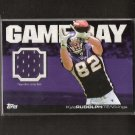 KYLE RUDOLPH - 2011 Topps Gameday Rookie Player-Worn Jersey Relic - Vikings & Notre Dame Irish