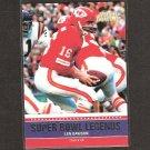 LEN DAWSON - 2011 Topps Super Bowl Legends - Chiefs & Purdue Boilermakers
