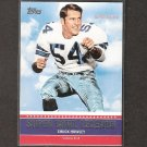 CHUCK HOWLEY - 2011 Topps Super Bowl Legends - Cowboys & West Virginia Mountaineers