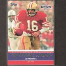 JOE MONTANA - 2011 Topps Super Bowl Legends - 49ers & Notre Dame Fighting Irish