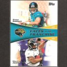 BLAINE GABBERT & MAURICE JONES-DREW 2011 Topps Faces of the Franchise Rookie - Jacksonville Jaguars
