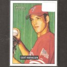 SCOTT MATHIESON - 2005 Bowman Heritage RC - Philadelphia Phillies
