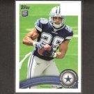 DeMARCO MURRAY 2011 Topps Rookie Card - Dallas Cowboys & Oklahoma Sooners