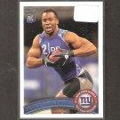 PRINCE AMUKAMARA 2011 Topps Rookie Card - NY Giants & Nebraska Cornhuskers