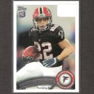 JACQUIZZ RODGERS 2011 Topps Rookie Card - Atlanta Falcons & Oregon State Beavers