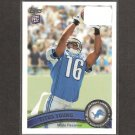TITUS YOUNG 2011 Topps Rookie Card - Detroit Lions & Boise State