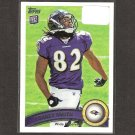 TORREY SMITH 2011 Topps Rookie Card - Ravens & Maryland Terrapins