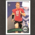 GREG McELROY 2011 Topps Rookie Card - NY Jets & Alabama Crimson Tide
