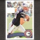 RYAN MALLETT 2011 Topps Rookie Card - Patriots & Arkansas Razorbacks