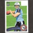 JAKE LOCKER 2011 Topps Rookie Card - Tennessee Titans & Washington Huskies