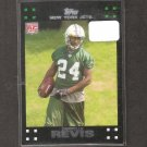 DARRELLE REVIS 2007 Topps Rookie Card - Patriots, NY Jets & Pitt Panthers