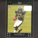 TONY HUNT 2007 Topps Rookie Card - Eagles & Penn State Nittany Lions