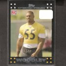 LaMARR WOODLEY 2007 Topps Rookie Card - Steelers & Michigan Wolverines