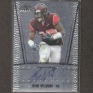 RYAN WILLIAMS - 2011 Leaf Metal Draft Autograph ROOKIE - Arizona Cardinals & VA Tech Hokies