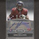 MIKE WILLIAMS 2010 Bowman Sterling Rookie Autograph - Buccaneers & Syracuse Orangemen