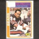 WALTER PAYTON - 1978 Topps - Chicago Bears & Jackson State