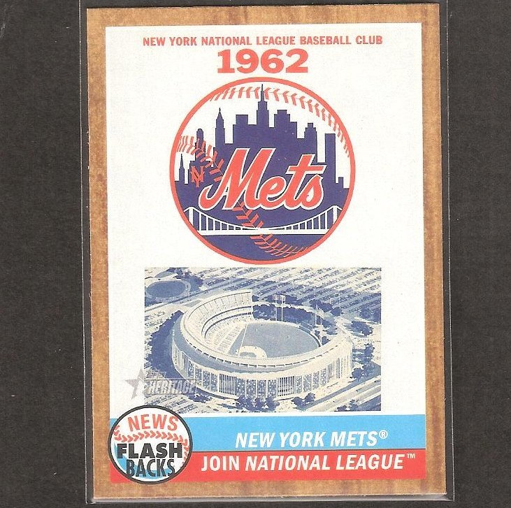 New York Mets Join National League - 2011 Topps Heritage News Flashbacks