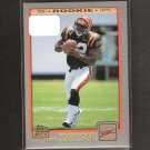 RUDI JOHNSON 2001 Topps ROOKIE - Cincinnati Bengals & Auburn Tigers
