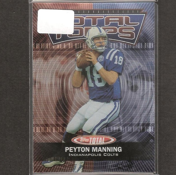 PEYTON MANNING - 2003 Topps Total Stars - Colts & Tennessee Volunteers