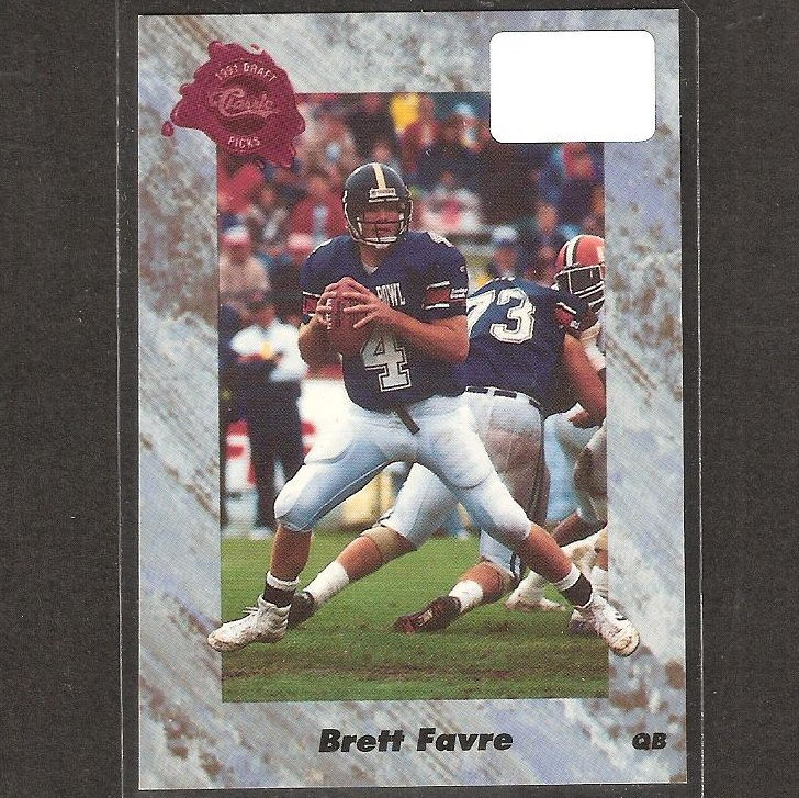BRETT FAVRE - 1991 Classic - Packers, Vikings & Southern Miss