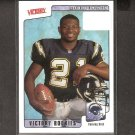 LaDAINIAN TOMLINSON - 2001 Upper Deck Victory Rookie - NY Jets, Chargers & TCU Horned Frogs