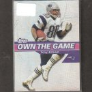 TROY BROWN - 2002 Topps Own the Game - New England Patriots & Marshall Thundering Herd