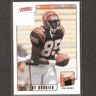 CHAD OCHOCINCO JOHNSON - 2001 Upper Deck Victory Rookie - Bengals & Oregon State Beavers
