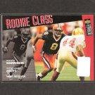 MARVIN HARRISON - 1996 Collector's Choice Rookie - Colts & Syracuse Orangemen