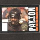 WALTER PAYTON - 2001 Topps 1985 REPRINT - Bears & Jackson State