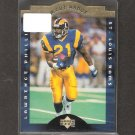 LAWRENCE PHILLIPS - 1996 Upper Deck A Cut Above Rookie - Rams & Nebraska Cornhuskers