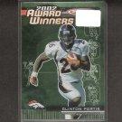 CLINTON PORTIS - 2003 Topps Total Award Winners - Broncos, Redskins & Miami Hurricanes