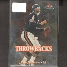 CADE McNOWN - 2000 Fleer Tradition Throwbacks Rookie - Bears & UCLA Bruins