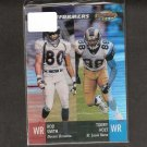 ROD SMITH & TORY HOLT - 2001 Bowman's Best Performers - Broncos & Rams