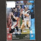 BRIAN GRIESE & KURT WARNER - 2001 Bowman's Best Performers - Broncos & Rams