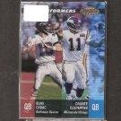 ELVIS GRBAC & DAUNTE CULPEPPER - 2001 Bowman's Best Performers - Ravens & Vikings