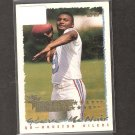 STEVE McNAIR - 1995 Topps RC - Tennessee Titans, Oilers & Alcorn State