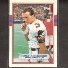TIMM ROSENBACH - 1989 Topps Traded RC - Cardinals & Washington State Cougars