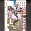 JULIUS PEPPERS - 2002 Upper Deck MVP RC - Panthers, Bears & North Carolina Tarheels