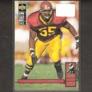 WILLIE McGINEST 1994 Collector's Choice Rookie - Patriots, Browns & USC Trojans
