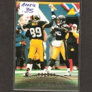 YANCEY THIGPEN - 1996 Pinnacle ROOKIE Card- Steelers & Winston-Salem State