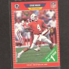 STEVE WALSH - 1989 Pro Set ROOKIE Card - Cowboys & Miami Hurricanes