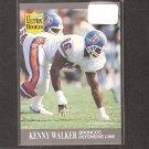 KENNY WALKER - 1991 Fleer Ultra Update ROOKIE Card - Denver Broncos & Nebraska Cornhuskers