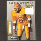 DARREN WOODSON - 1992 Skybox Prime Time ROOKIE Card - Dallas Cowboys & Arizona State Sun Devils