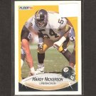HARDY NICKERSON - 1990 Fleer Update ROOKIE Card - Steelers & Cal Golden Bears