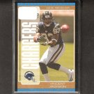 VINCENT JACKSON 2005 Bowman GOLD ROOKIE CARD - Chargers & Northern Colorado
